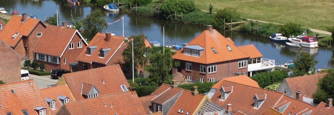 Blick von Ribe Domkirke