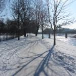 Winter im Hofwiesenpark Gera