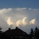 Gewitterwolke über Gera-Untermhaus