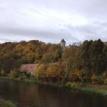 Blick auf Schloss Osterstein