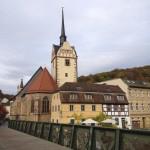 Lummersches Backhaus und St. Marienkirche