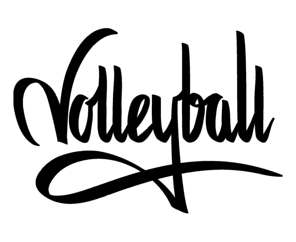 Volleyball - Graffiti - Untermhäuser Sandsäcke